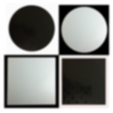 Masonite Cake Boards  Black