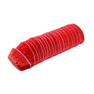 Mini Red Foil Baking Cups/ Cupcake Cases 500pc