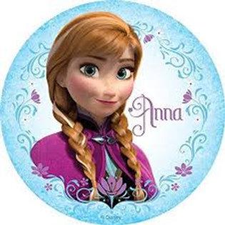 Frozen Anna - Round