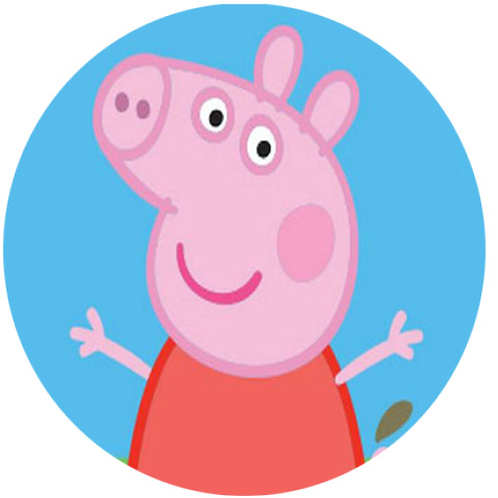 Peppa Pig - Round 8 Inch