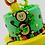 Two Tiered Safari Themed Birthday Cake1