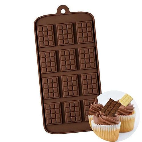 Mini Chocolate Block Silicone Mould