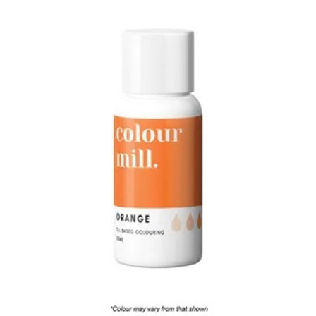Colour Mill Oil Based Food Colour 20ml - Orange