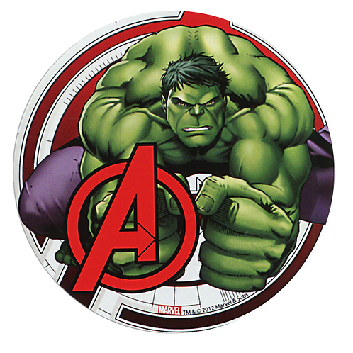 Hulk Edible Image Style1 - Round