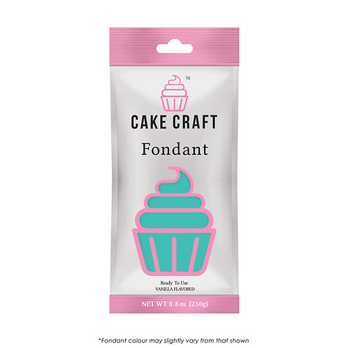 Cake Craft Fondant - Pure Teal 250g