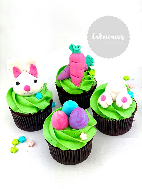 Easter Bunny Cupcake Cake Class School Holiday Programme - pic 2