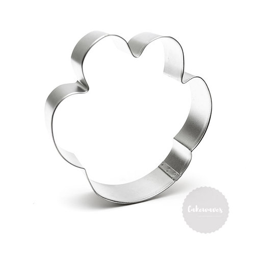 "DOG PAW PRINT 4.5"" Stainless Steel Cookie Cutter"