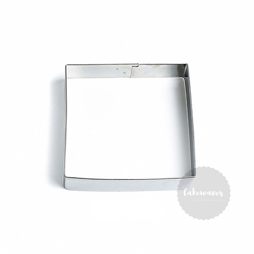 Square 8.5cm Stainless Steel Cookie Cutter