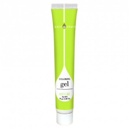 Cake Craft Colouring Gel - Lime Green 30g