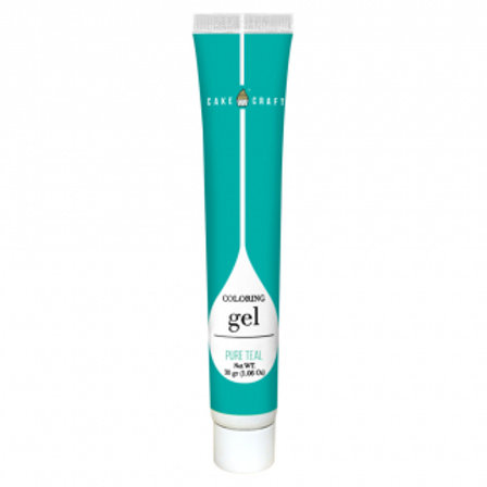 Cake Craft Colouring Gel - Pure Teal 30g