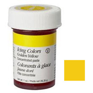 Golden Yellow Wilton Icing Color