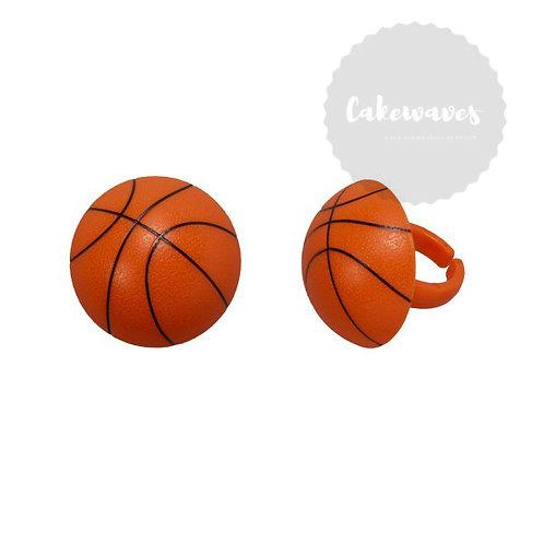 3D BASKETBALL CUPCAKE RINGS