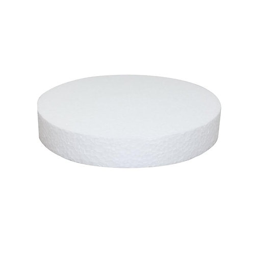 Round Cake Dummy 8 inch -  1 inch Height