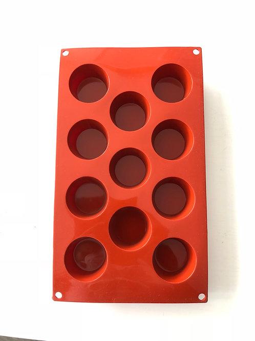 Silicone Bakeware - Round Small 11 cavity