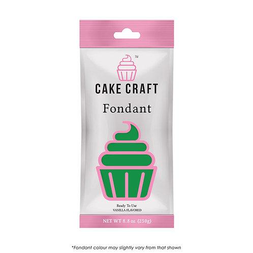 Cake Craft Fondant - Leaf Green 250g