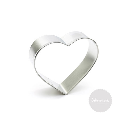 "HEART 3.25"" Stainless Steel Cookie Cutter"