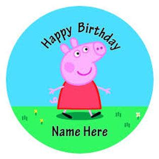 Peppa Pig2 - Round