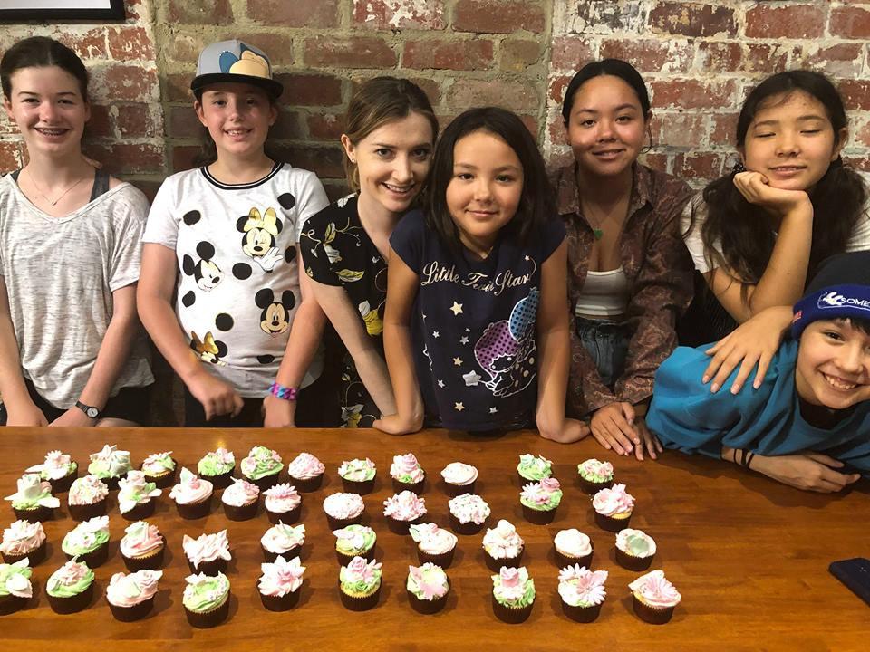 Kids Garden Theme Cupcake Class