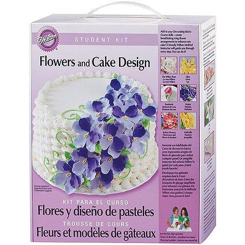 Flowers And Cake Design Studen Kit - Wilton