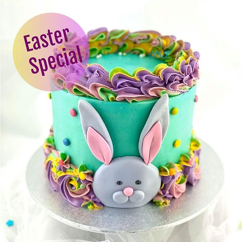 Fondant and Buttercream Easter Bunny Cake Class - pic 1