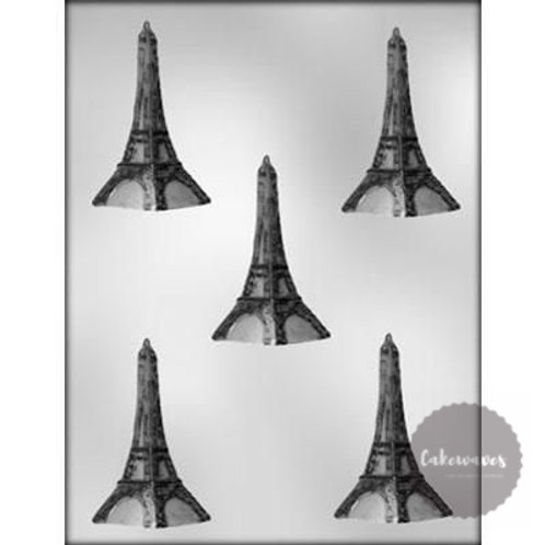 Eiffel Tower 3D Large 5 Cavity Chocolate Mould