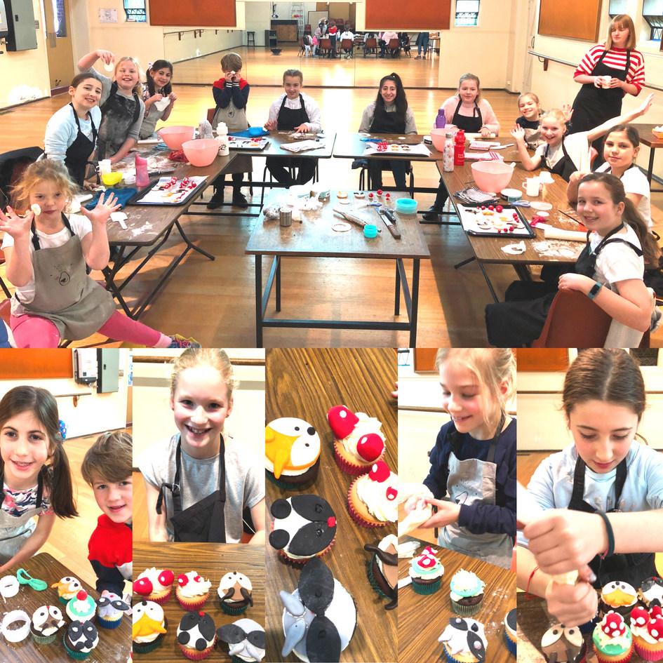 July 2019 school holiday Cupcake class2