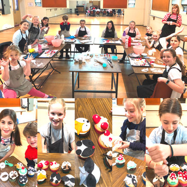 July 2019 school holiday Cupcake class2