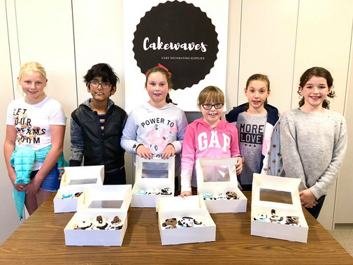 Kids July Holiday Cake Classes
