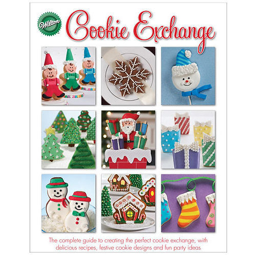 Christmas Cookie Exchange Book - WILTON