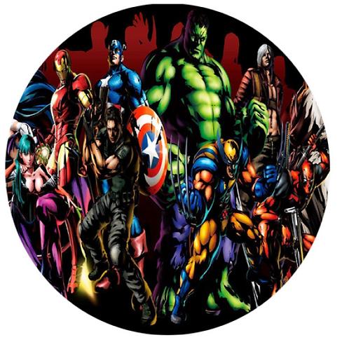 Avengers 2 - Round 8 Inch