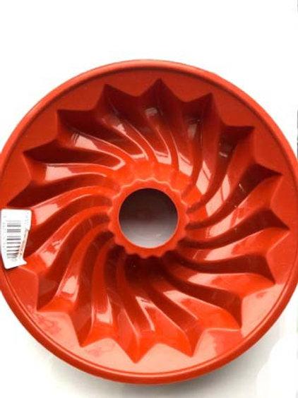 Large Spiral Bundt Silicone Bakeware Mould