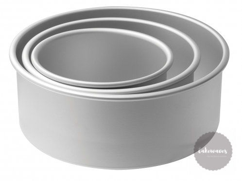 3 Tier Cake Pan Set - 4 inch deep