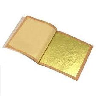 Edible Gold leaf 5 pc transfer sheet