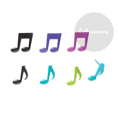 Music Notes Cupcake Picks