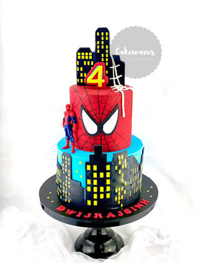 Two tier spiderman