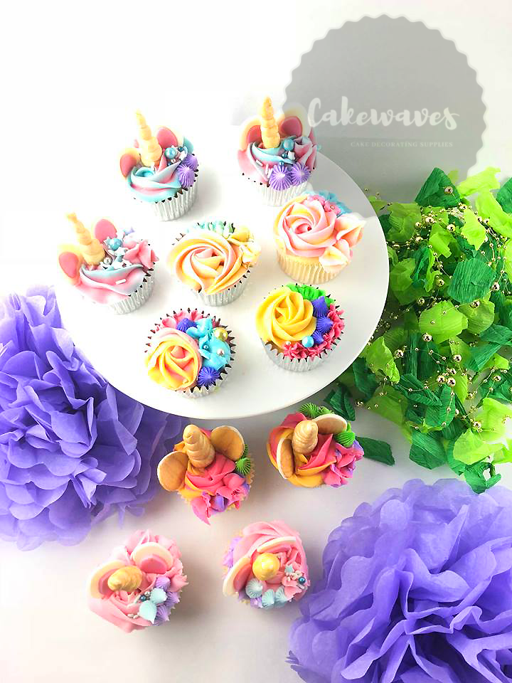 Multi themed Cupcakes