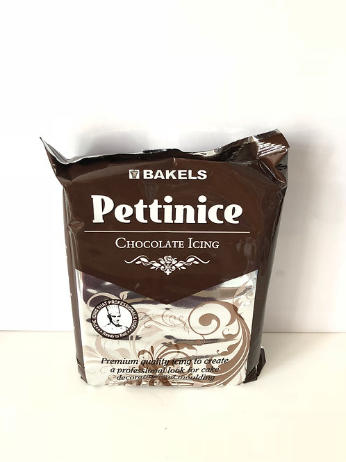 Bakels Pettinice Chocolate Fondant Icing
