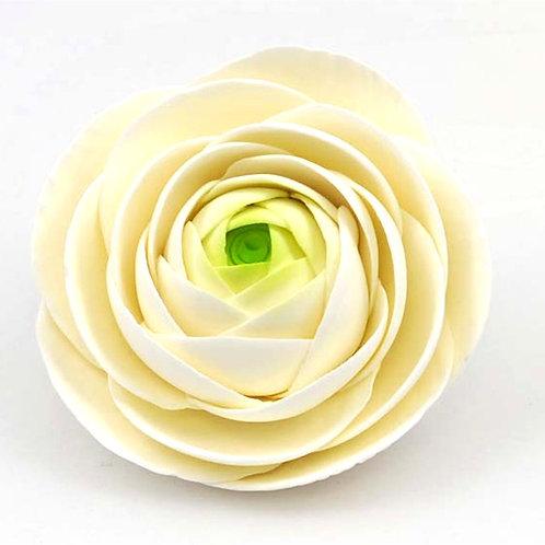 Rananculas White 12cm Edible Sugar Flower