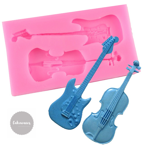 Violin and Guitar Silicone Mould