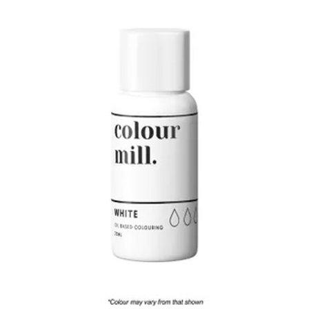 Colour Mill Oil Based Food Colour 20ml - White