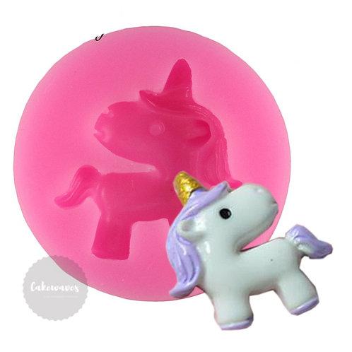 Unicorn Horse Silicone Moluldm - Small
