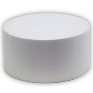 Round Cake Dummy 7 inch -  4 inch Height