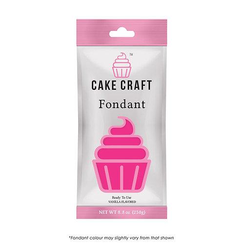 Cake Craft Fondant - Rosy Pink 250g