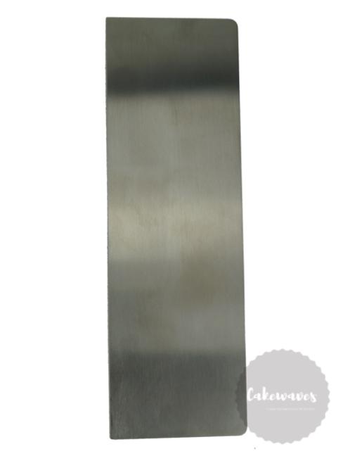 Metal Buttercream / Ganache  Scraper 23cm