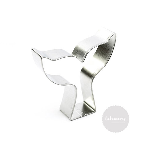 "MERMAID or WHALE TAIL 3.5"" Stainless Steel Cookie Cutter"