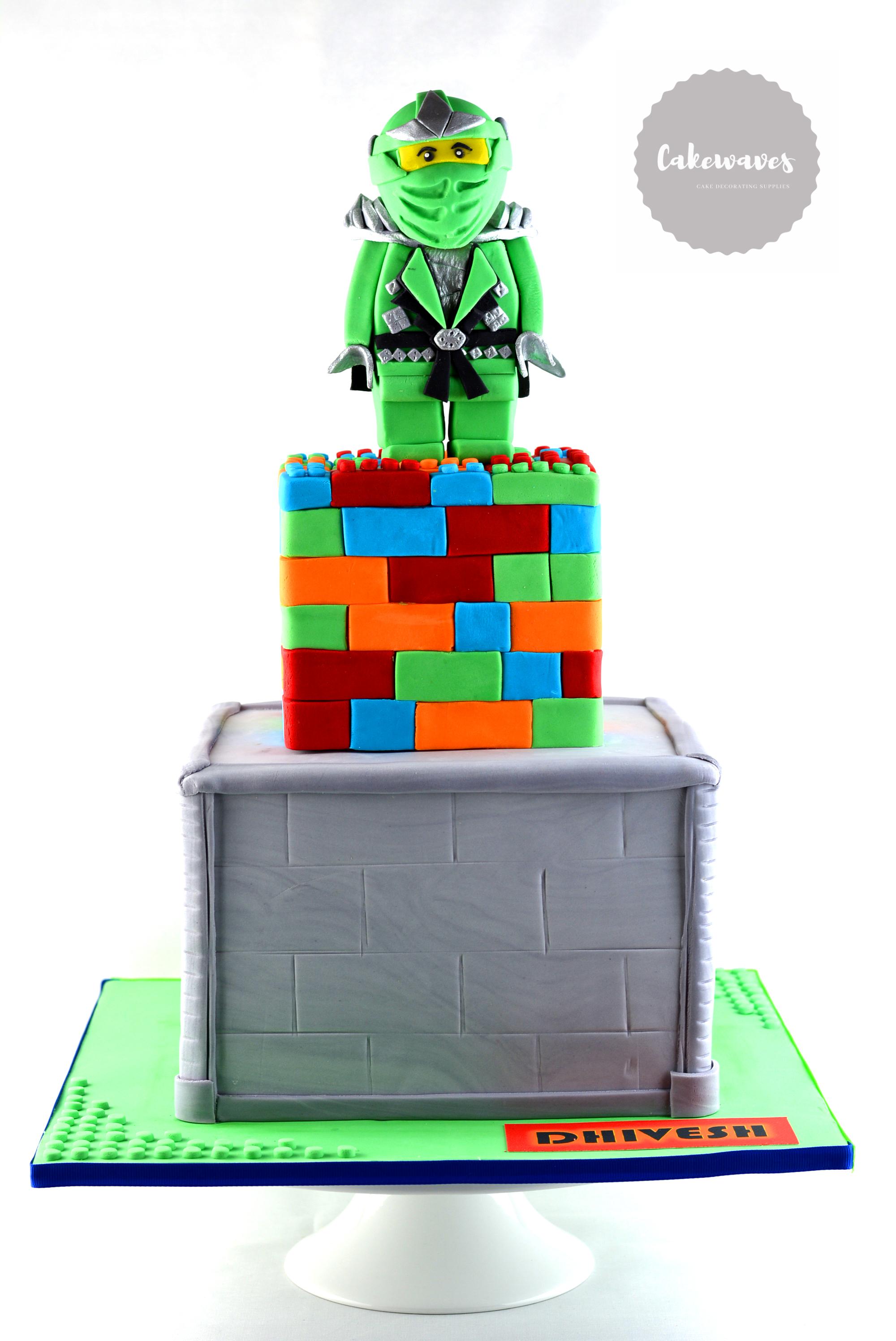 Lego Ninja Cake