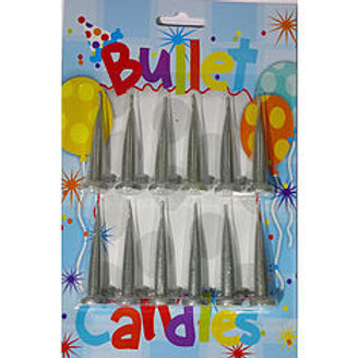 Silver Bullet candles 12 piece