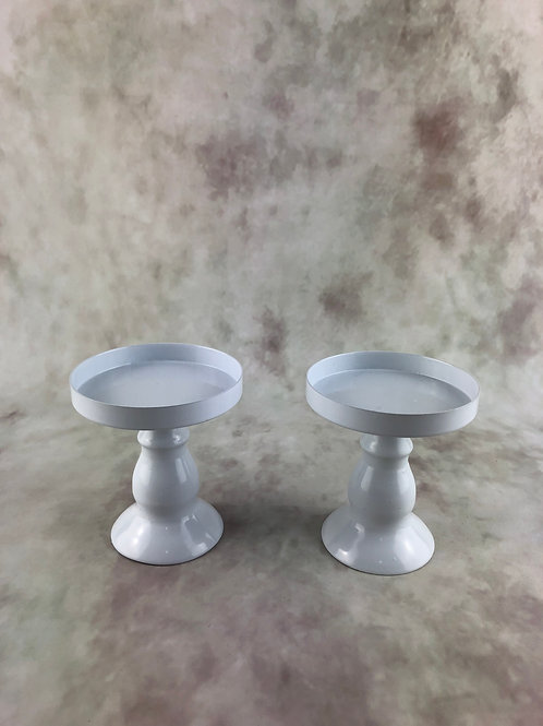White Cake Stand - Ex Small