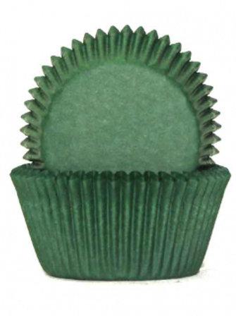 Cupcake Cases / Baking Cups Standard 100pc - Dark Green