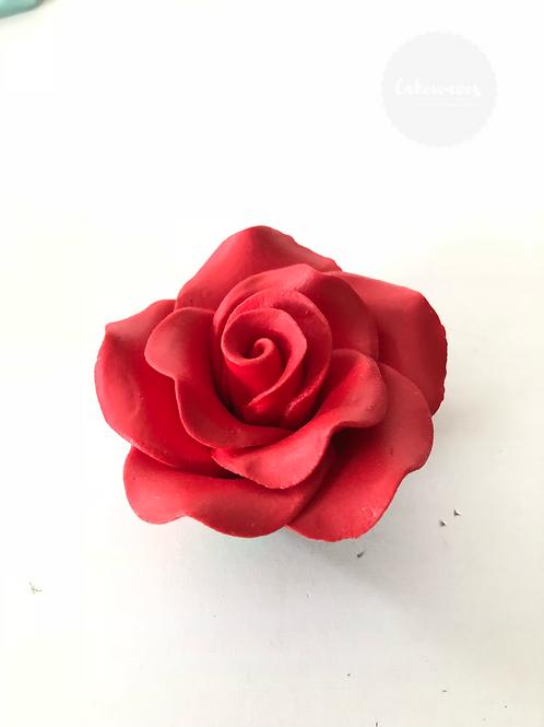 Edible Rose - Red 5cm